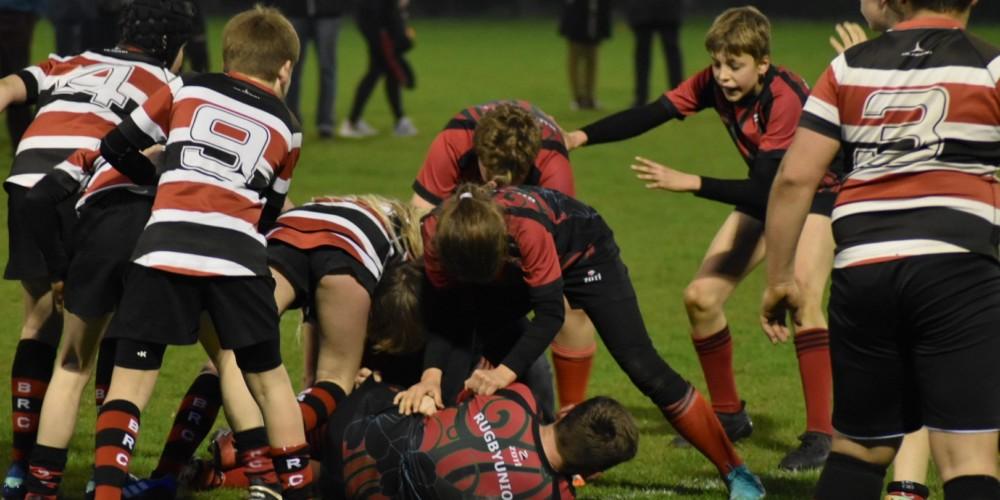 U12 bezwingt Rugbyriesen aus Berlin